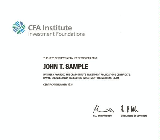 Cfa Certificate Frame Size   Frameswalls.org