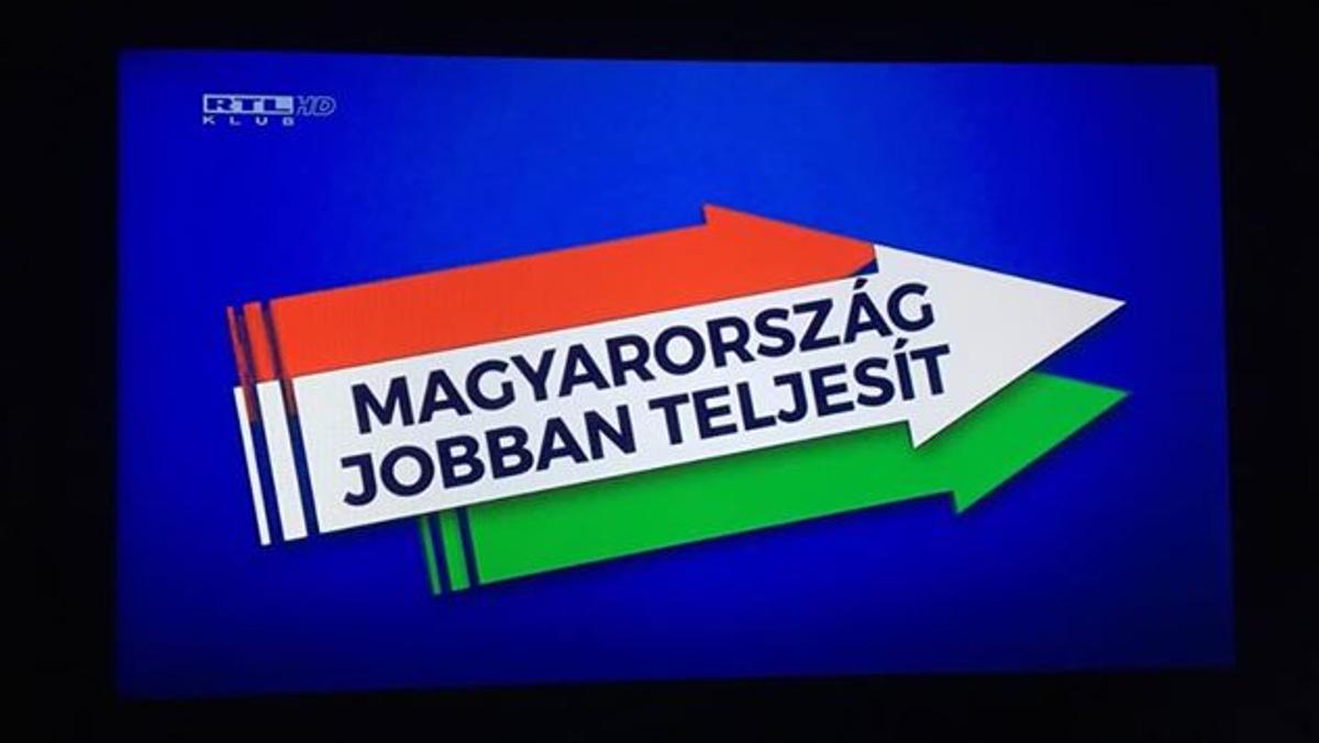 Kiemelt kép: Az RTL Klubon futó társadalmi célú, a kormányzat által fizetett reklám egyik jellemző pillanata 2019. január 18-án este. Fotó: Media1.hu/olvasónktól