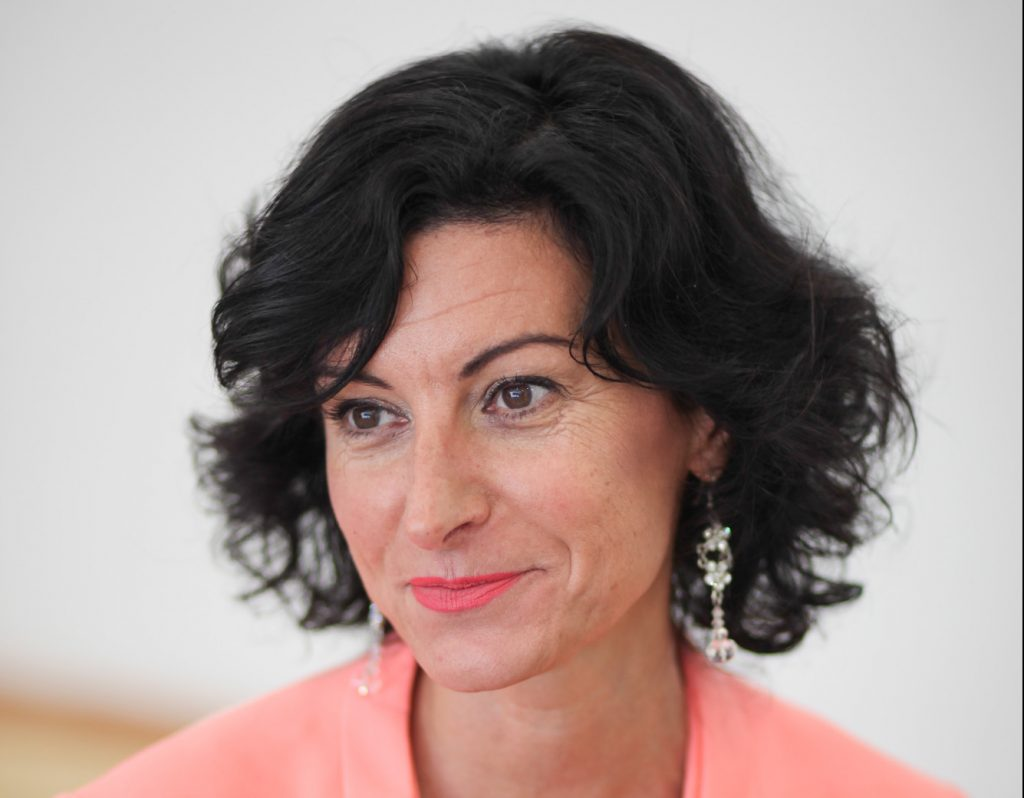 Bali Mónika, a Manna FM programigazgatója
