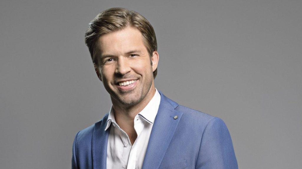 Sebestyén Balázs, az RTL Klub műsorvezetője. Fotó: RTL sajtószoba