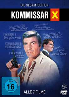 Kommissar X - Die Gesamtedition: Alle 7 Filme