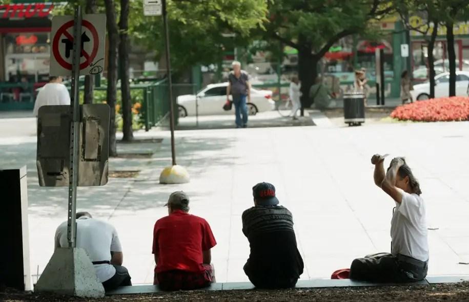 De plus en plus de personnes âgées emplissent aujourd'hui les rangs des sans-abri.