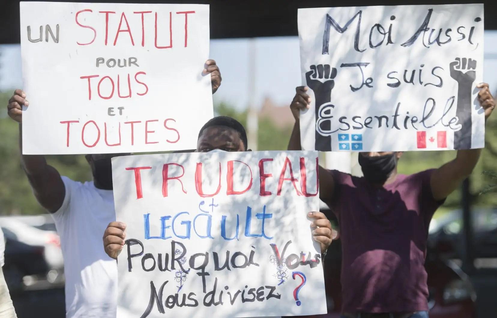 Québec solidaire réclame la résidence permanente pour tous les travailleurs essentiels migrants