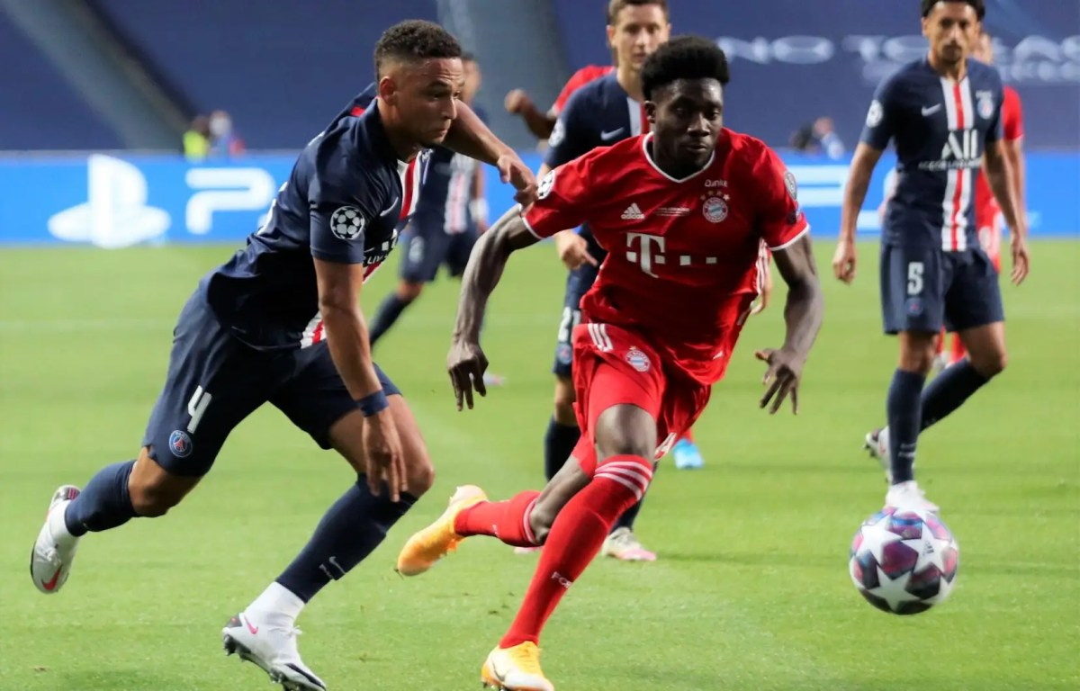 Alphonso Davies and Bayern Munich win the Champions League - The Canadian