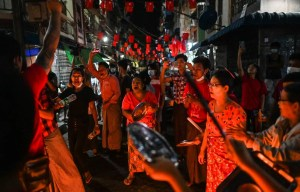 La contestation s'intensifie au Myanmar