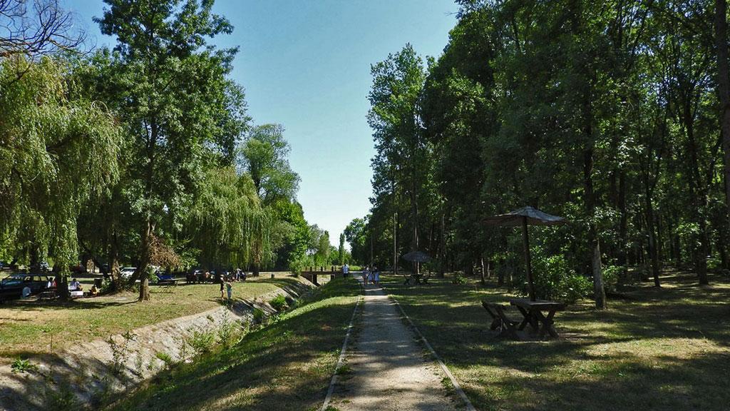 Mesto za piknik sa dodatnim sadržajem - izletište Borkovac, kod Rume