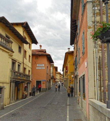 neka od ulica kroz koje se šetate