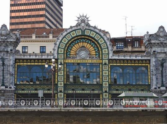 železnicka stanica Santander-station