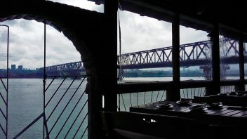 pogled na Pančevački most od Goce i Renata