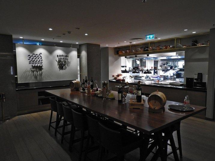 pogled na kuhinju