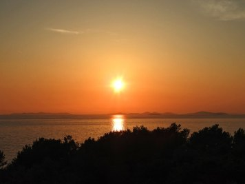 pure zalazak sunca