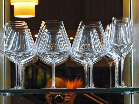 svidelo mi se kako su čaše izložene