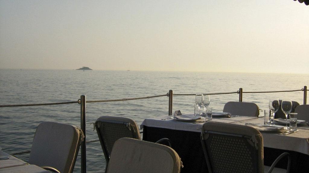 Puntulina – restoran na samoj obali mora u centru Rovinja