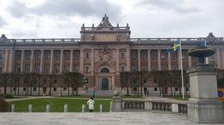 Parliament building Stockholm Riksdagshuset