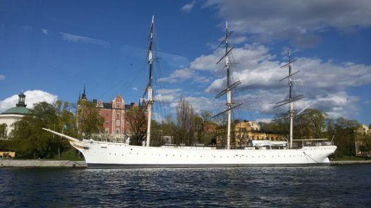 Stockholm ship tour STF af chapman skeppsholmpen