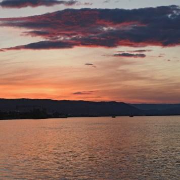 zalazak sunca u Kladovu