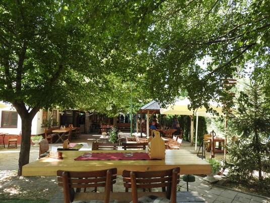 restoran Šajka Pančevo baštica