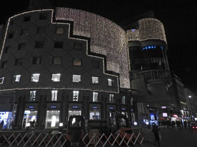haas haus by night