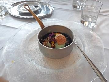 desert gostilna za gradom Koper