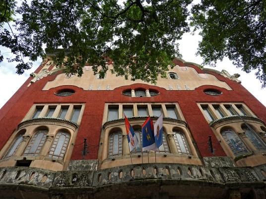 gradska kuća Subotica detalj