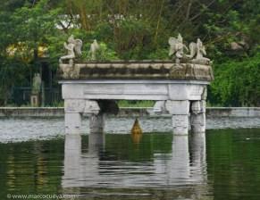 Shiva under water