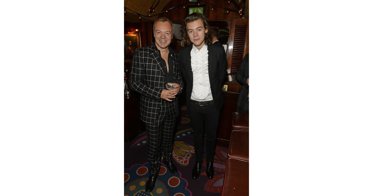 Harry Met Up With Talk Show Host Graham Norton Inside The