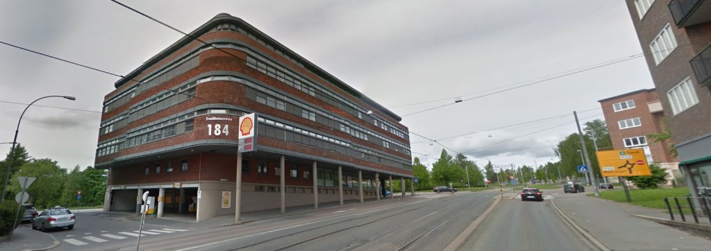 Trondheimsveien 184 i Oslo