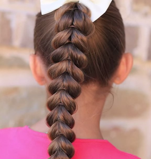Pull Through Braid Work The Updo 9 Pretty Ponytail
