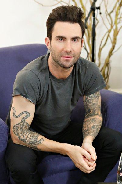 Adam Levine   The Ultimate Celebrity Tattoo Gallery ...