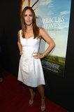 Jennifer Garner potrebbe accecarvi appena con il suo aspetto bianco caldo del tappeto rosso
