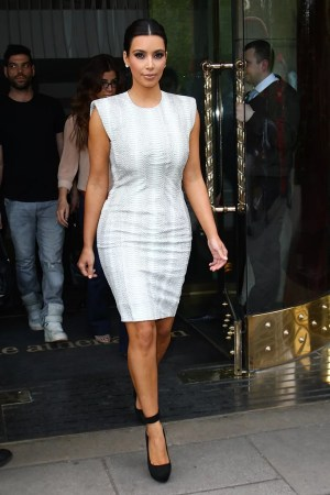 Celebrities in White Dresses and Black Shoes   POPSUGAR Fashion