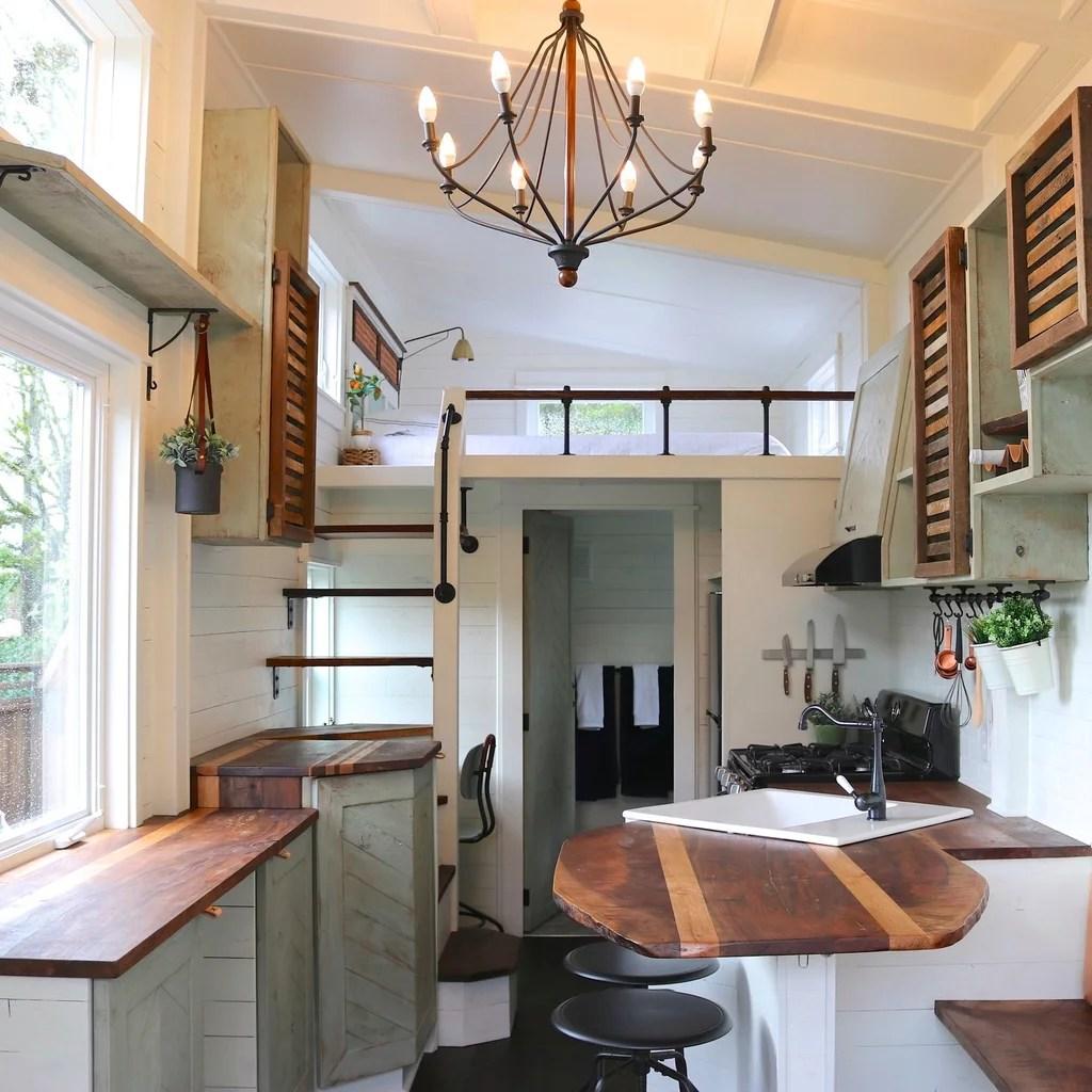 Tiny Farmhouse With Loft Bedroom POPSUGAR Home Australia