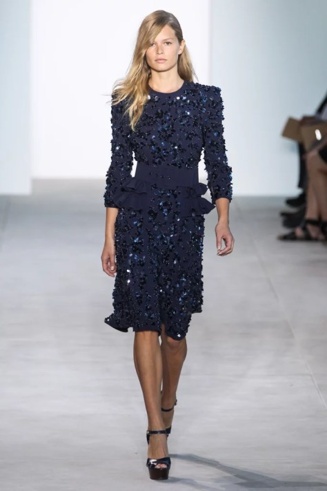 The dress first made an appearance at New York Fashion Week on Sept. 14.