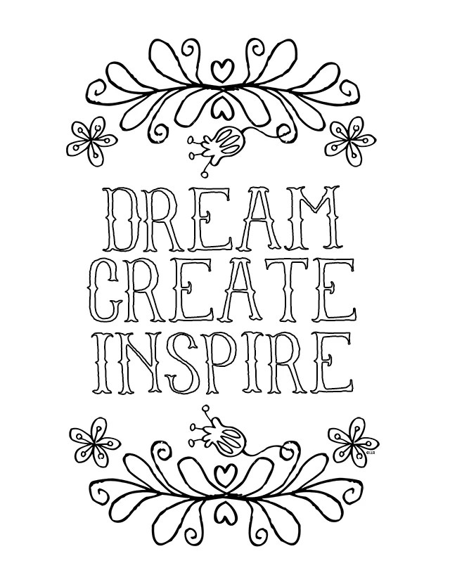 Cute Coloring Pages For Adults Quotes Novocom Top