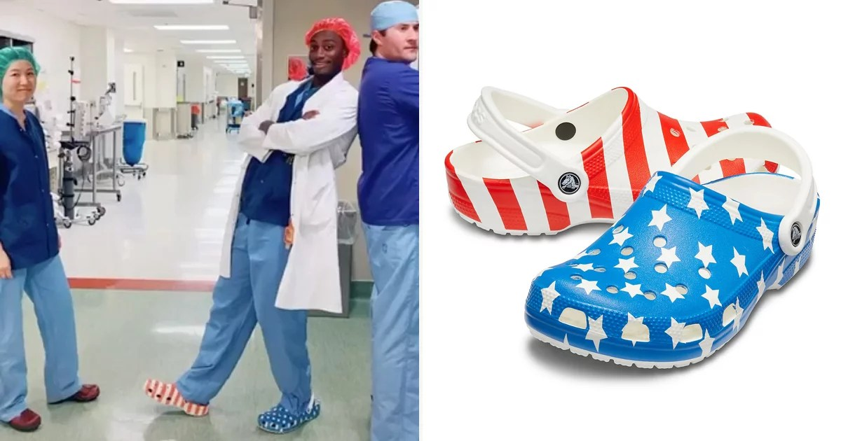 Crocs Is Donating Free Shoes to Healthcare Workers on the Frontlines of the COVID-19 Crisis