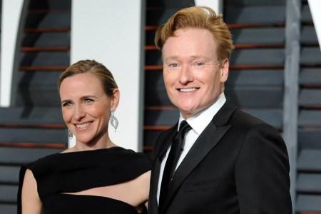 Resultado de imagen para Conan O'Brien liza powel