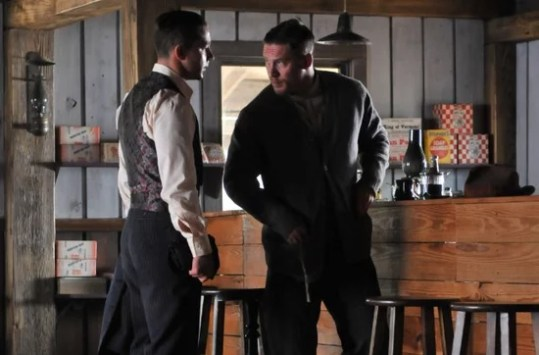 Lawless Trailer Starring Shia LaBeouf and Tom Hardy   POPSUGAR     The preview for the movie  which is based on the novel The Wettest County  in the World  has a lot going on  and looks like it s going to be a bit  more