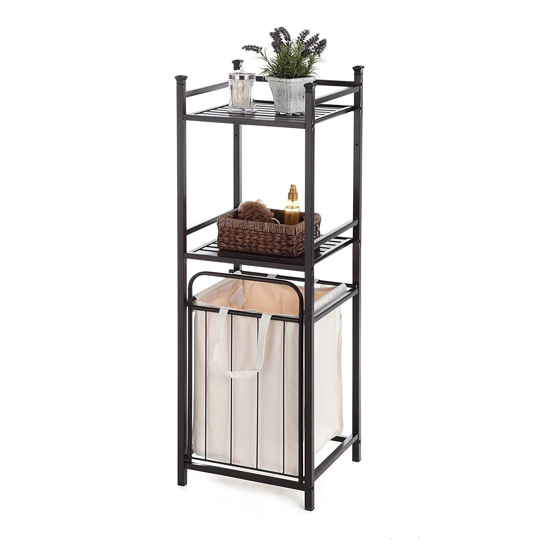 home zone bathroom storage shelf with
