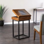 Holly And Martin Cayson Storage Lift Top Side Table Small Space Furniture From Walmart Popsugar Home Australia Photo 29