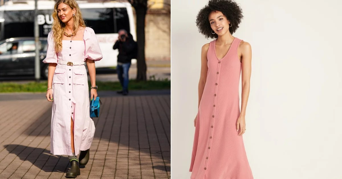 I'm Crowning This Midi Dress the Perfect Date-Night Look  Oh, and It's $22 Right Now