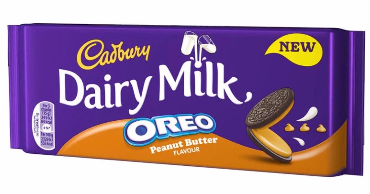 Cadbury Oreo Peanut Butter Chocolate Bar Popsugar Food Uk
