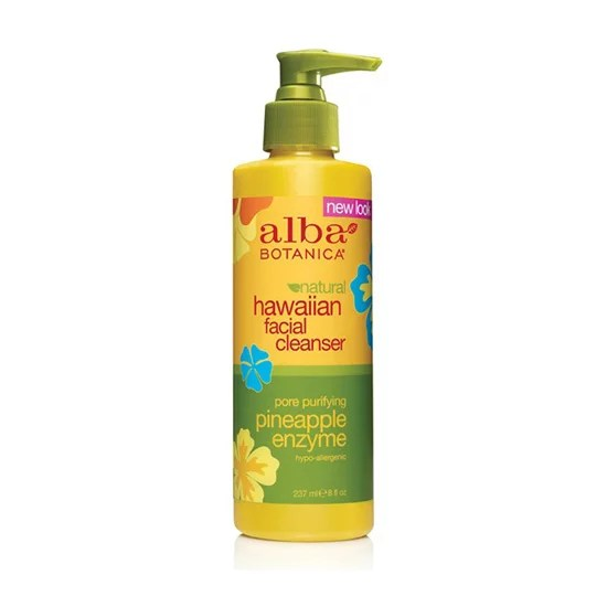 Alba Botanica Pineapple Enzyme Facial Cleanser 13 Is A Blend Of Paraben Free Beauty