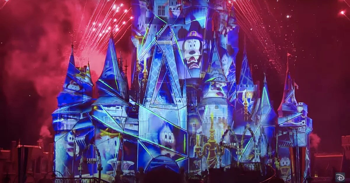 Disney Shared Its Jack Skellington Halloween Fireworks Show and It's 13 Minutes of Spooky Magic
