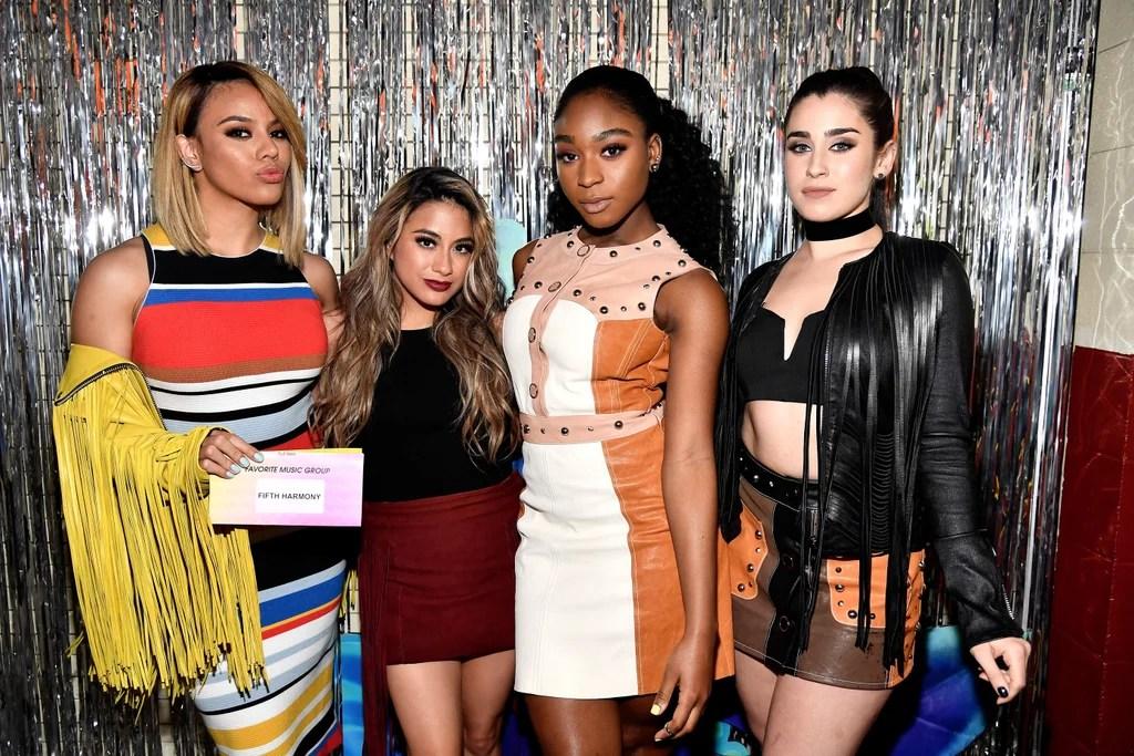 Camila Cabello And Fifth Harmony At Kids Choice Awards