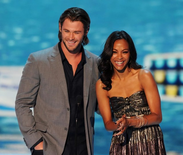Zoe Saldana Has Starred In Movies With All Of Hollywoods Hot Chrises And We