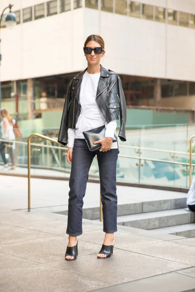 Day-to-Night Pieces, Like a Unique White Shirt and Mules
