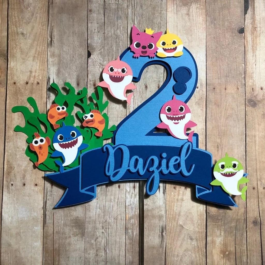 Baby Shark Party Supplies For Kid Birthdays Popsugar Family