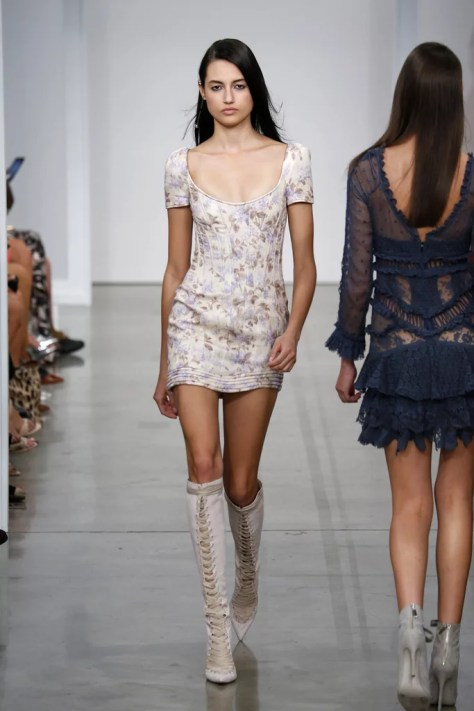The Zimmermann Spring '17 collection debuted at New York Fashion Week on Sept. 9.