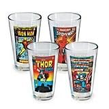 Marvel Characters Pint Glasses