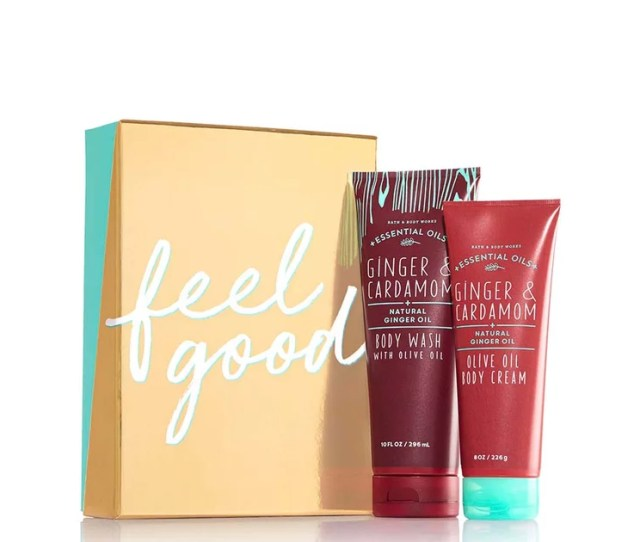 Bath Body Works Feel Good Essential Oils Gift Set Beauty Gifts Under   Popsugar Beauty Photo